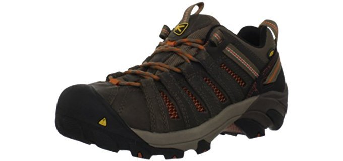 Keen Utility Men's Flint - Steel Toe Low Cut Work Boot