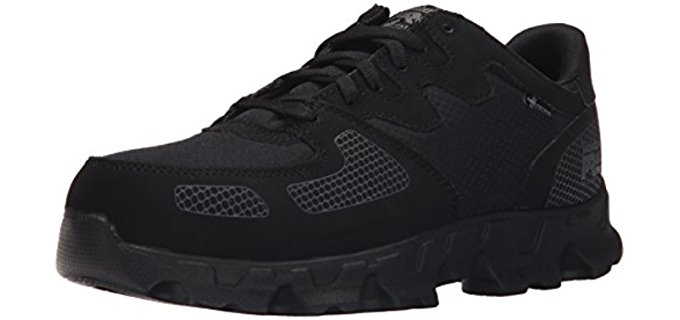 Timberland Pro Men's Power Train - Static Dissipative Alloy Toe Low Top Work Boot