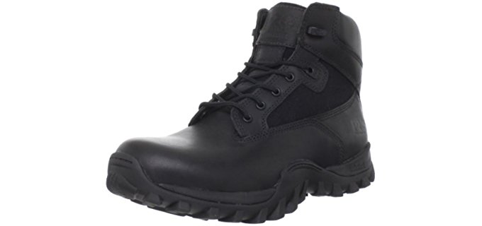 Timberland Pro Men's Valor - McClellan 6 Inch Work Boot with Side Zip