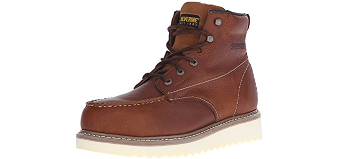 Wolverine Men's Honey - Steel Toe Comfortable Work Boot