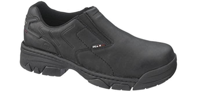 Wolverine Men's Falcon - Slip-On Composite Toe Low Top Work Boot