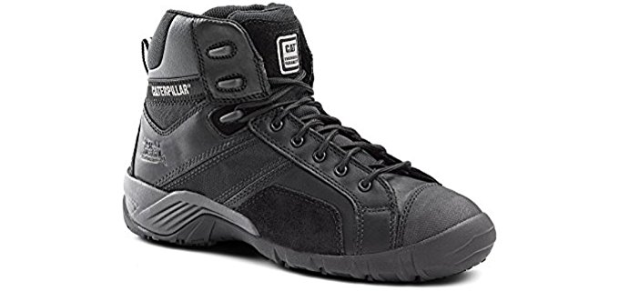 Caterpillar Men's Argon Hi - Slip Resistant Work Boot for A  Day Standing