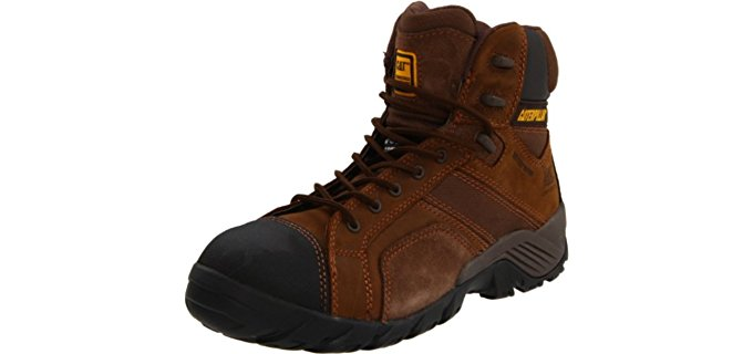 Caterpillar Men's Argon Hi - Composite Toe Work Boot