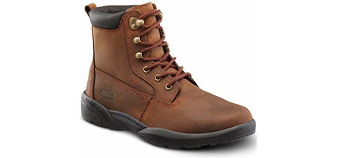 Dr. Comfort Men's Boss - Orthopedic Extra Depth Work Boots