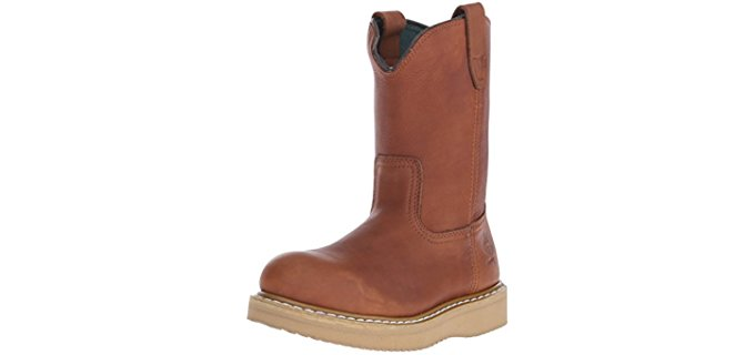 Georgia Men's Wedge - Pull On Wedge Work Boot