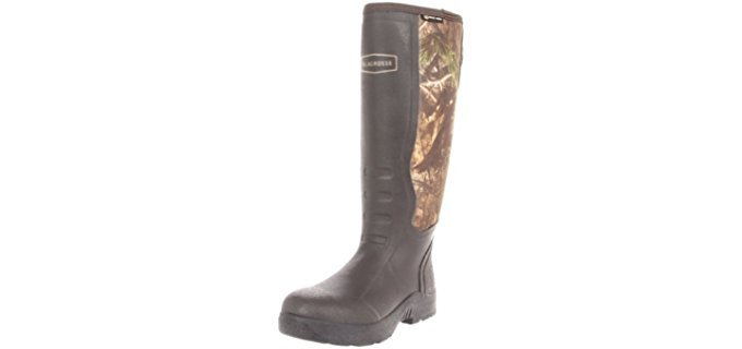 LaCrosse Alpha Mudlite Rubber Snake Protection Boot