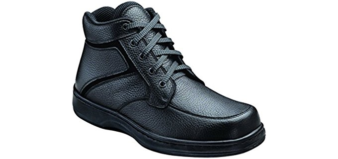 Orthofeet Men's 481 - Therapeutic Comfort Diabetic Work Boots