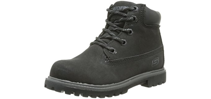 Skechers Kid's Mecca Bunkhouse - Kids Lace Up Work Boots