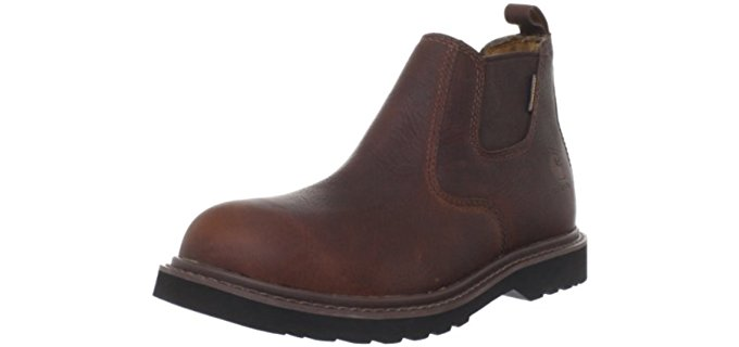 Carhartt Men's Romeo - Low Cut Non-Safety Pull On Work Boots