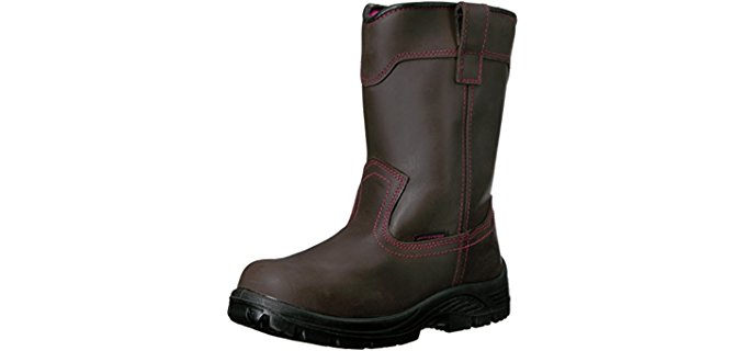 Avenger Women's 7146 - Composite Toe Pull on Water proof Work Boots