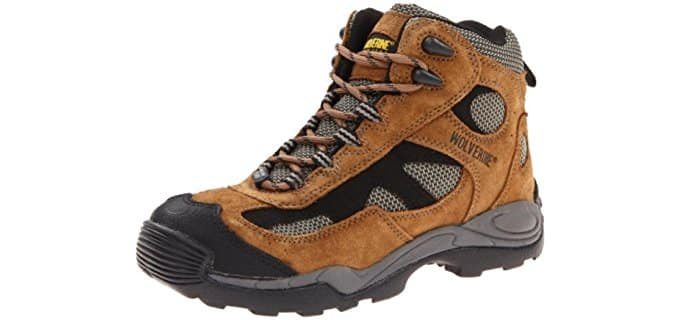 Wolverine Men's W02072 - Best Work Boots for Plantar Fasciitis