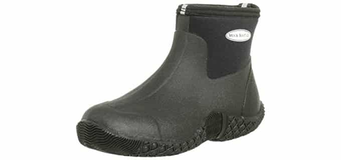 The Original Muckboots Men's Adult Jobber - Ankle High Insulated Rubber Boot
