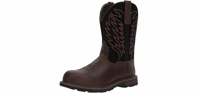 Ariat Men's Groundbreaker - Waterproof Steel Toe Work Boot