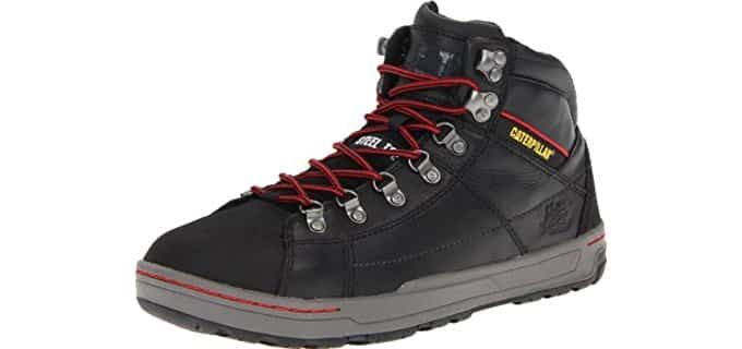 Caterpillar Men's Brode Hi - Minimalist Steel Toe Skate Shoe