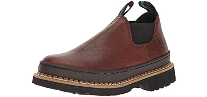 Georgia Kid's Romeo - Comfortable Short Pull-on Work Boots