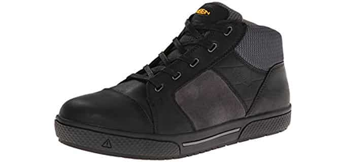 Keen Men's Destin - Mid Steel Toe Shoe