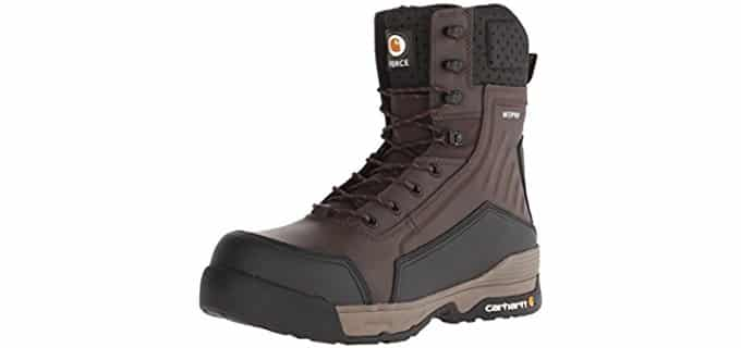 Carhartt Men's 8 Inch Force - Composite Toe Work Boots for Hot Weather