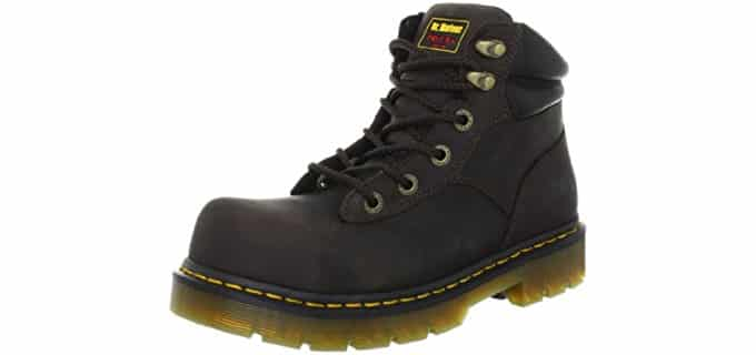 Dr. Martens Men's Burham ST - Steel Toe Work Boot for Electricians