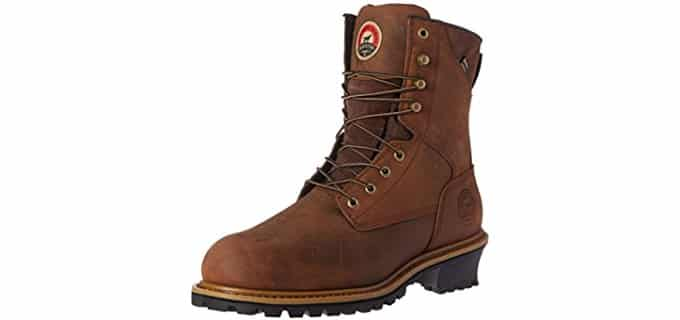 Red Wing Men's Irish Setter - Mesabi Steel Toe Logger Boot