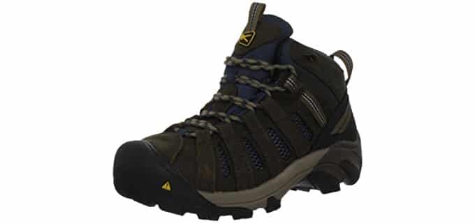 Keen Utility Men's Flint Mid - Most Breathable Work Boots