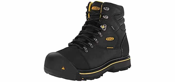 Keen Utility Men's Milwaukee WP - Chemical Resisting Nubuck Leather Work Boot