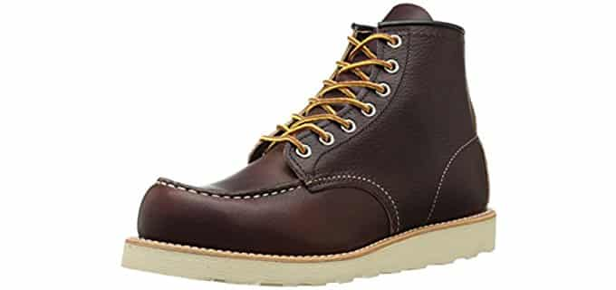 Red Wing Men's Classic Moc - 6 Inch Wedge Sole Work Boot