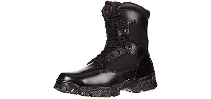 Rocky Men's Alpha Force - 8 Inch Steel Toe Tactical Boot