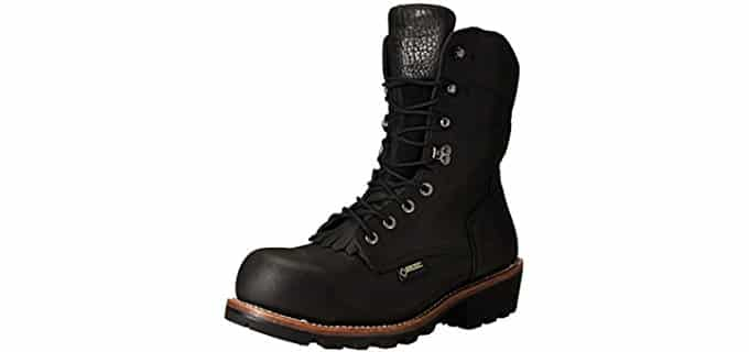 Wolverine Men's Buckeye - Safety Toe Logger Boot