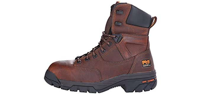 Timberland PRO Men's Helix Work Boots - High Profile Work Boots for Painters