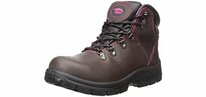 Avenger Women's 7125 - Steel Toe Waterproof Work Boots