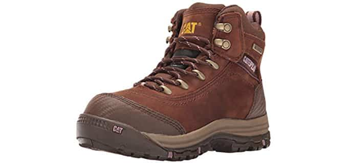 Caterpillar Women's Ally - 6-inch Waterproof Composite Toe Work Boot