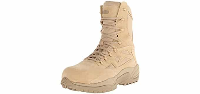 Reebok Men's RB8894 Stealth - 8-Inch Tactical Side Zipper Boots