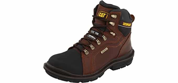 Caterpillar Men's Manifold - Plantar Fasciitis and Heel Spur Work Boot