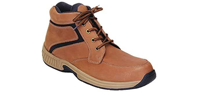 Orthofeet Men's Highline - Comfort Orthopedic Boots