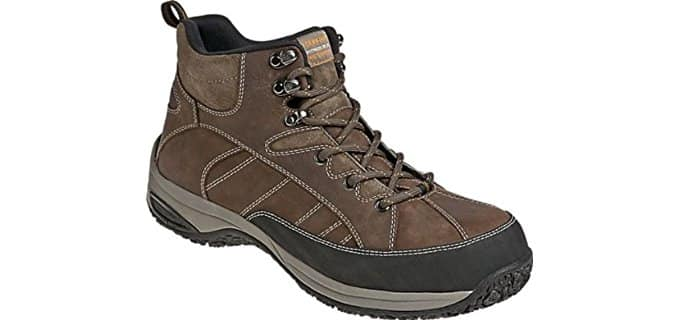Dunham Men's Lawrence - 4E Steel Toe Work Boot