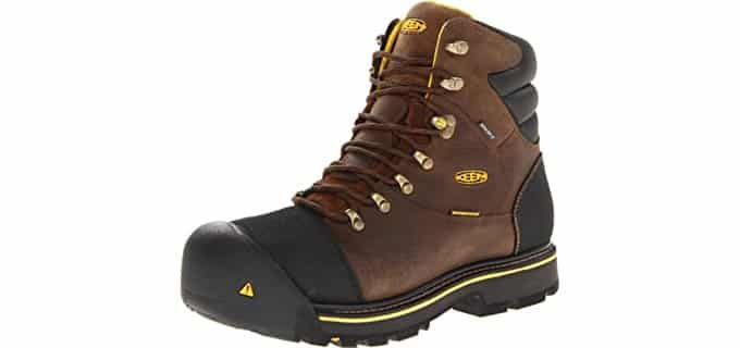 Keen Utility Men's Milwaukee - Nubuck Leather Wide Work Boot