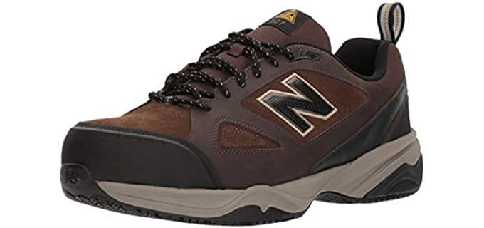 New Balance Men's MID 627v2 - 4E Low Cut Steel Toe Work Shoe