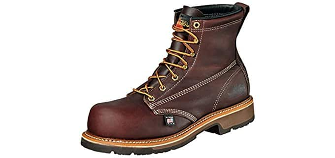 Thorogood Men's Heritage 6 Inch Emperor Toe - 4E Composite Safety Toe Boot