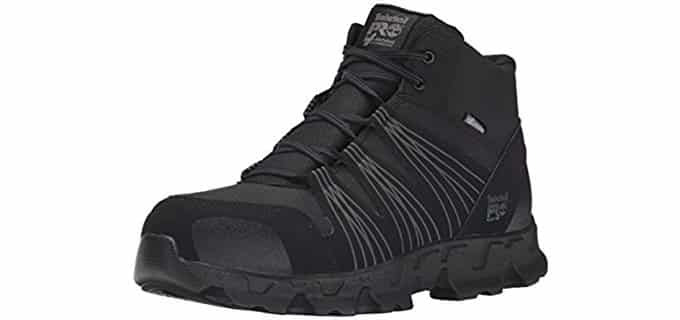 Timberland Men's Powertrain - Mid Alloy Toe ESD Industrial Boot