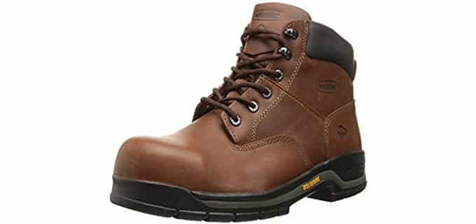 Wolverine Men's Harrison 6-Inch - 4E Wide Work Boot