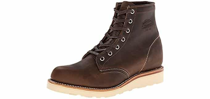 Chippewa Men's Collection - Crepe Wedge Sole Work Boot