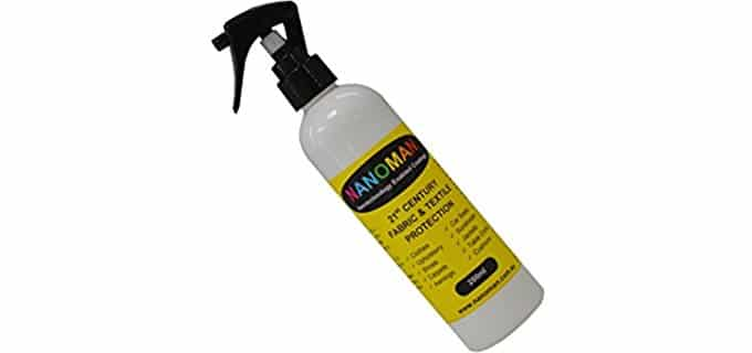 NanoMan 's Shoe Protector - Eco-Friendly Water Waterproofing Spray