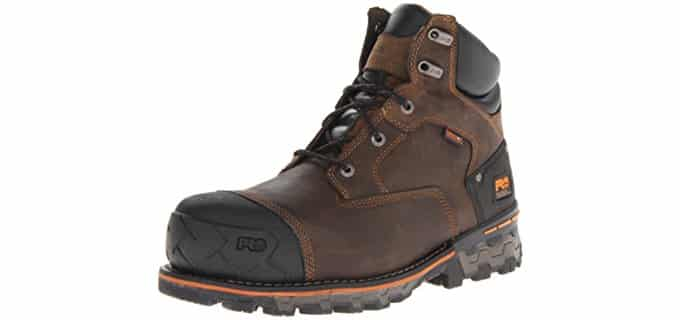 Timberland PRO Men's Boondock - Waterproof Steel Toe Electrical Safety Work Boot