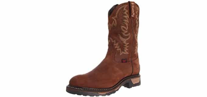 Tony Lama Men's TW1018 11-inch - Waterproof Western Work Boot