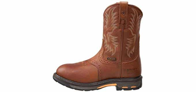Ariat Men's Workhog - Pull On Slip Resistant Work Boot