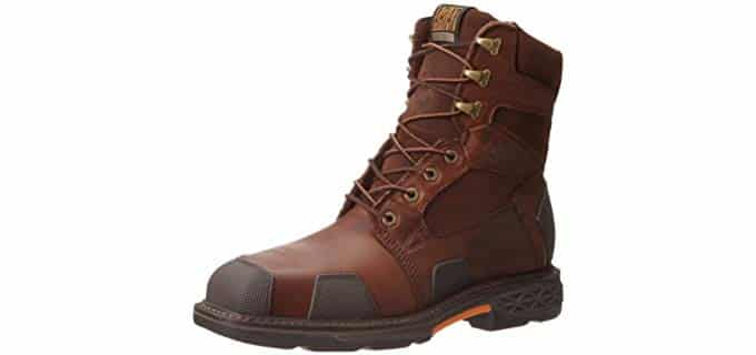 Ariat Men's Overdrive Work Boots - Heavy Duty Square Toe Lacer Boots