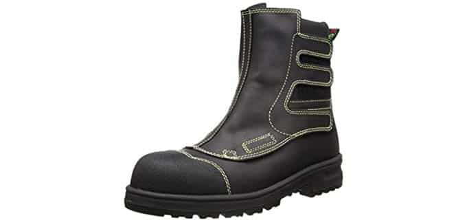 Blundstone Men's Smelter Boot - High Profile Welding Boots for Smelters