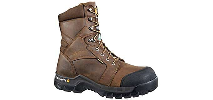 Carhartt Men's Rugged Flex Boots - Flexible Safety Boots for Carpenters