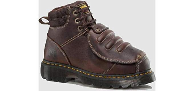 Dr. Martens Men's Ironbridge Steel Toe Welders - Met Guard Welding Work Boots