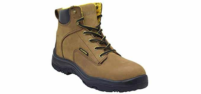 EVER BOOTS Men's Ultra Dry Work Boots - Insulated Anti-Slip Plumbers Work Boots